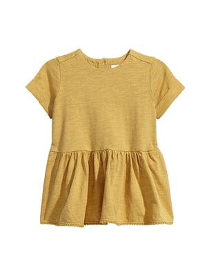 Сукня гірчичного кольору   5497062