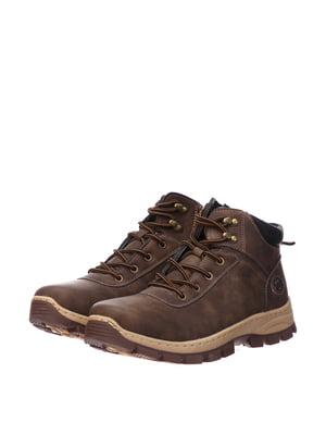Ботинки коричневые | 5497638