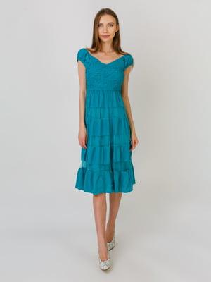 Сукня бірюзова | 5491805
