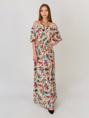 Платье бежевое | 5491811