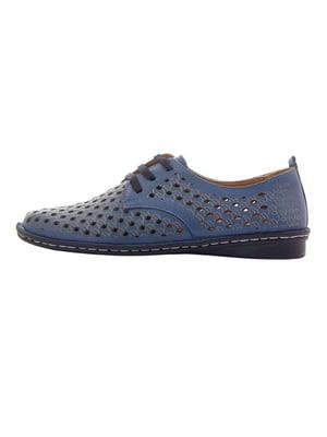 Туфлі сині   5497716