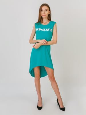 Сукня бірюзова | 5491785