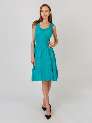 Плаття бірюзове | 5491808