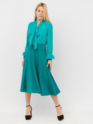 Платье бирюзового цвета | 5497866