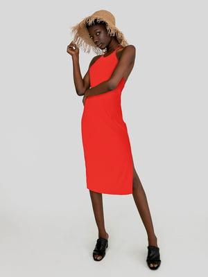 Платье кораллового цвета | 5498019