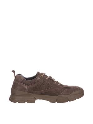 Кроссовки коричневые | 5479306