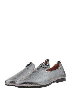 Туфли стального цвета | 5479595