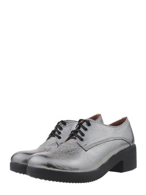 Туфли стального цвета | 5479629