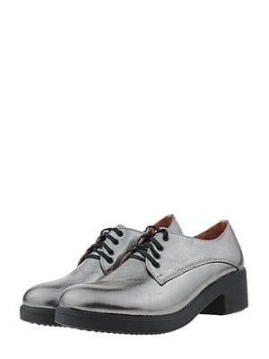 Туфли стального цвета | 5479630