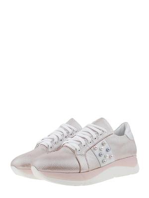 Кросівки пудрового кольору | 5479650