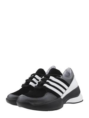 Кросівки чорно-білі | 5485521