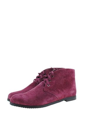 Ботинки сиреневого цвета | 5498515