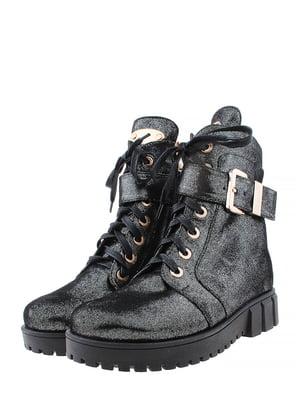 Ботинки темно-серые | 5498615