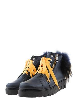 Ботинки синие | 5498704