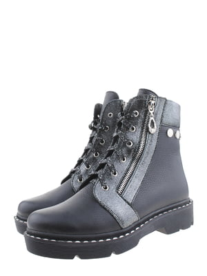 Ботинки двухцветные | 5498716