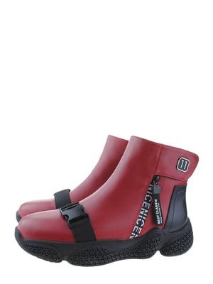 Ботинки красные | 5498379