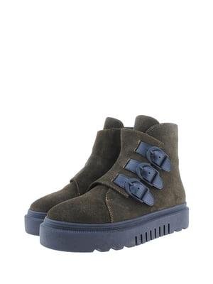 Ботинки цвета хаки | 5498385
