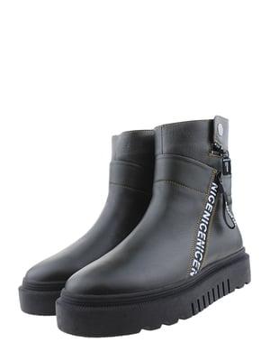 Ботинки цвета хаки | 5498394