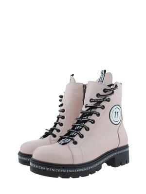 Ботинки пудрового цвета | 5498403