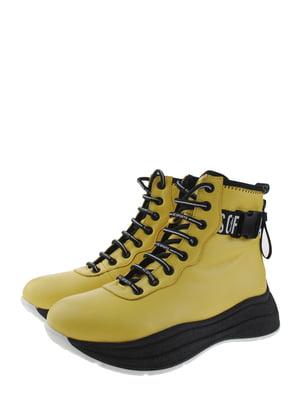 Ботинки желтые | 5498406