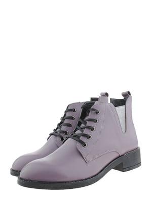 Ботинки сиреневого цвета | 5498649