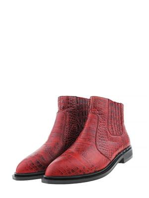 Ботинки красные | 5498787