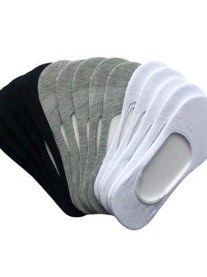 Набор мужских носков следы (15 пар) | 5499236