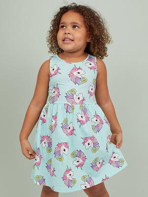 Платье с единорогами | 5499244