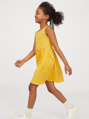 Платье желтое | 5499247