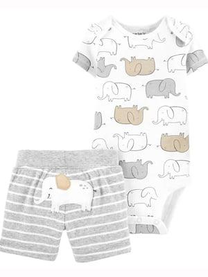 Комплект: боди и шорты | 5499250
