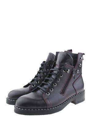 Ботинки бордовые | 5498412