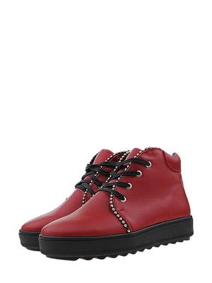 Ботинки красные | 5498478