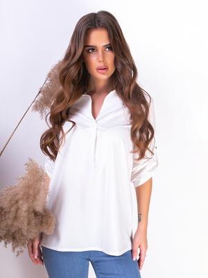 Блуза белая | 5499617