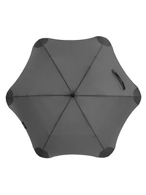 Зонт-полуавтомат черный | 5156347