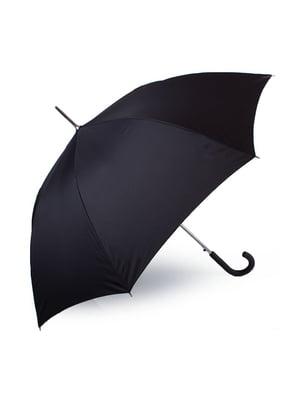 Зонт-полуавтомат черный | 5499291