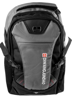 Рюкзак сіро-чорний   5499456