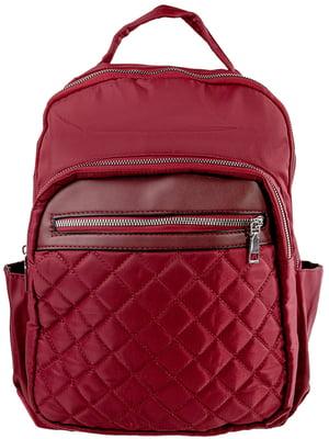 Рюкзак бордовий | 5499497