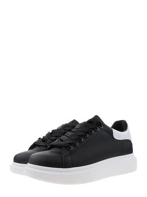 Кроссовки черно-белые | 5488719