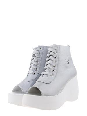 Ботинки серые | 5498145