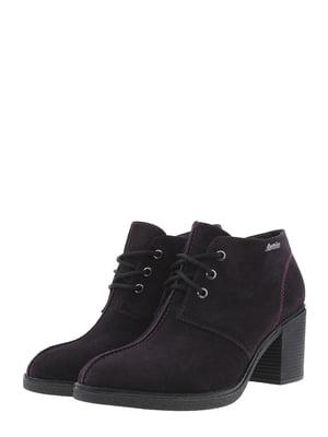 Ботинки баклажанного цвета   5498272
