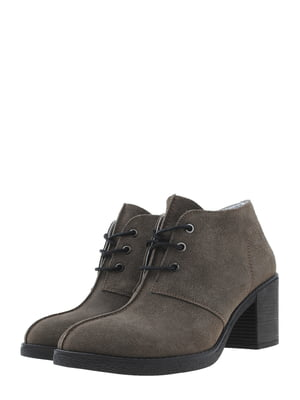 Ботинки болотного цвета | 5498274