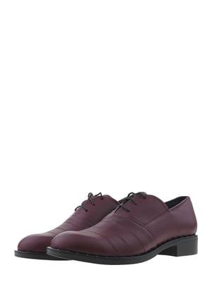 Туфли бордовые | 5479369