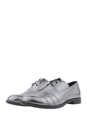 Туфли стального цвета | 5479370