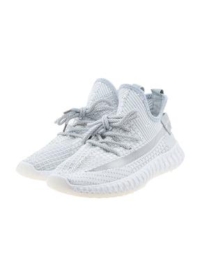 Кроссовки бело-серые | 5488538