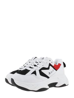 Кроссовки черно-белые | 5488584
