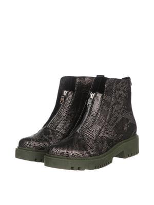 Ботинки цвета хаки | 5498167