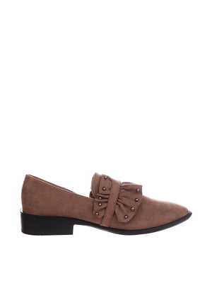 Туфли цвета хаки | 5485636