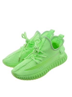 Кроссовки салатового цвета | 5488569