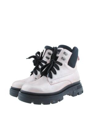 Ботинки цвета пудры | 5498311