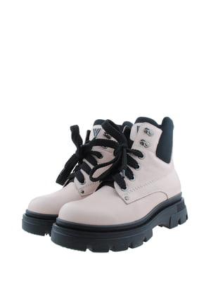 Ботинки пудрового цвета | 5498316
